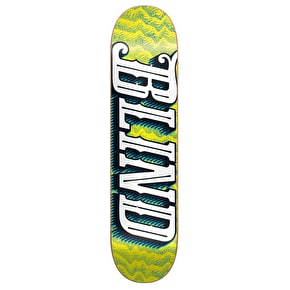 Blind Skateboard Deck - Line Up Green/Yellow 8
