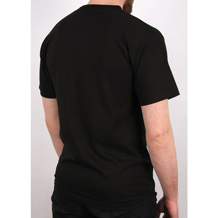 X-Large Tab T shirt - Black