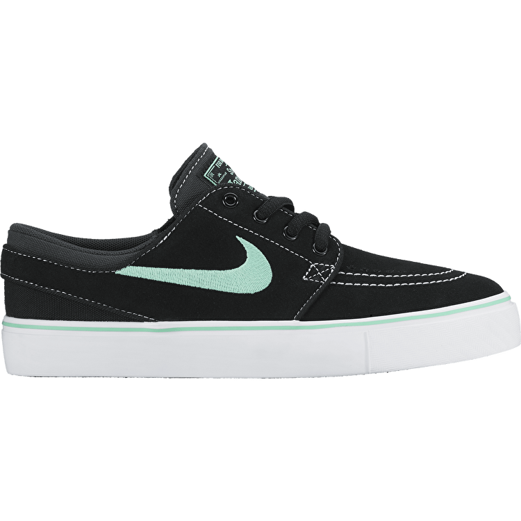 Nike SB Zoom Stefan Janoski Skate Shoes - Black/Green