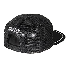 Grizzly OG Bear Patch Trucker Cap - Black
