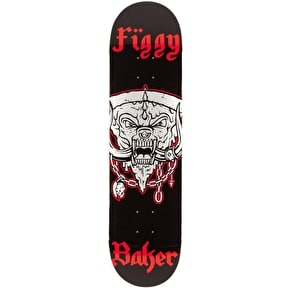 Baker Pizza Head Skateboard Deck - Figgy 8