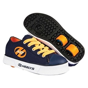 Heelys X2 Pure - Navy/Orange UK 1 (B-Stock)