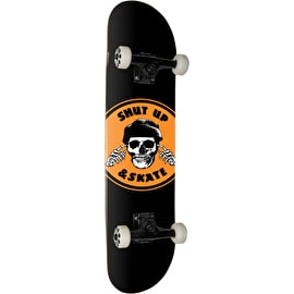Zero Shut Up & Skate Complete Skateboard 7.625