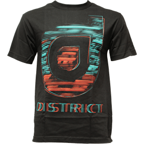 District Supply Co. Sketch T-Shirt - Black