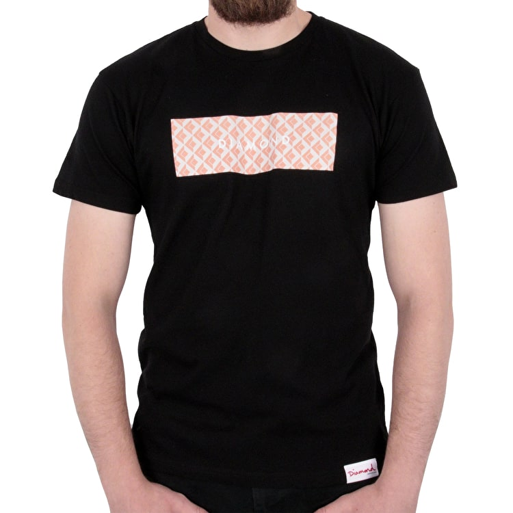 Diamond Tile T shirt - Black