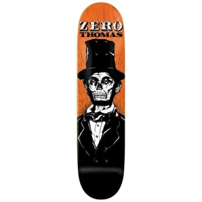 Zero Skateboard Deck - Dead Presidents R7 Thomas 8.375