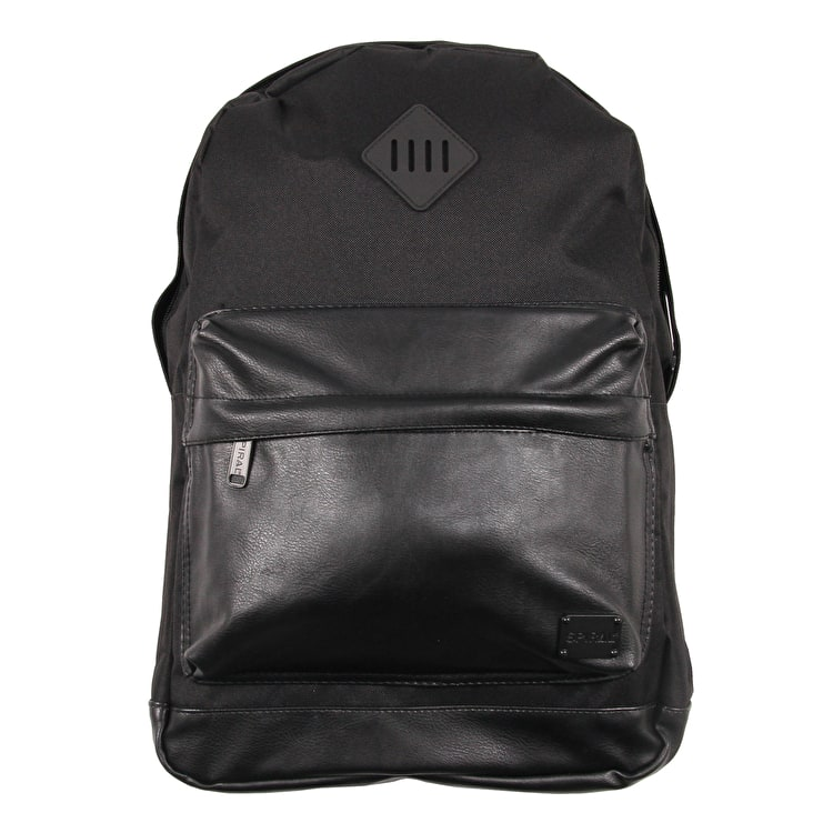 Spiral OG Prime Backpack - Faux Leather Pocket