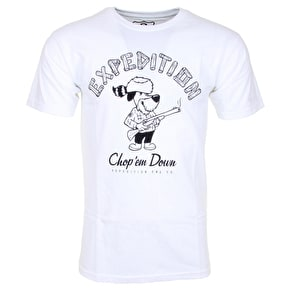 Expedition One Chop T-Shirt - White