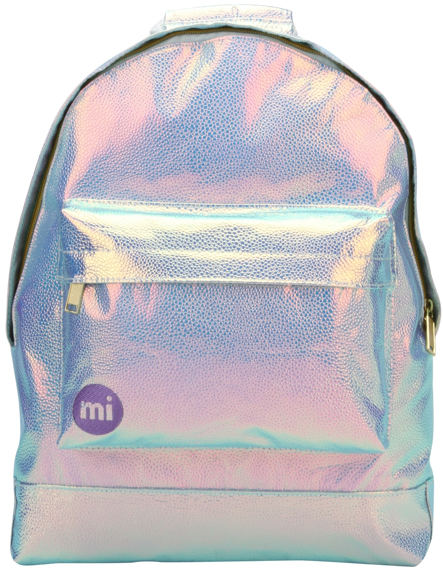 MiPac Pebbled Backpack  Iridium
