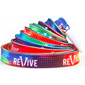 ReVive x Lacorda Shoelace Belt - Tie Dye