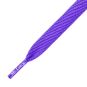 Mr Lacy Shoelaces - Flatties Violet