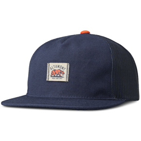 Altamont Dickson Trucker Cap - Navy/Orange