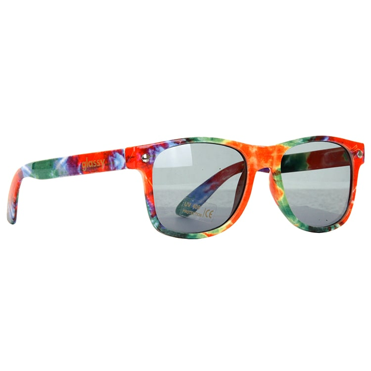 Glassy Sunhaters Leonard Sunglasses - Tie Dye