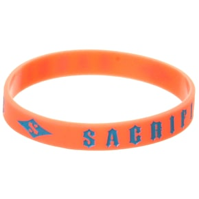Sacrifice Wrist Band - Orange/Blue