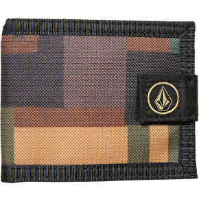 Volcom Circle Stone Cloth Wallet - Teak