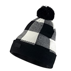 Nike Buffalo Plaid Beanie - Sail/Black