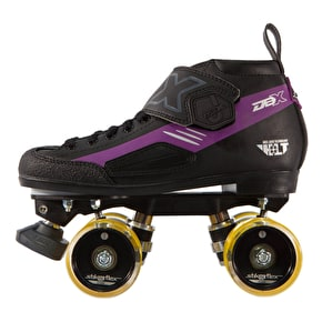 Crazy Skates DBXJ Adjustable Junior Derby Skates - Purple