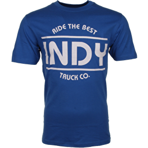Independent T-Shirt - Indy Blue