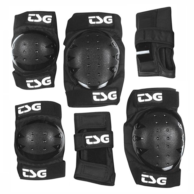 TSG Junior Basic Pad Set - Black