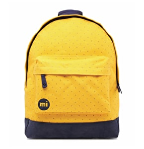 Mi-Pac Backpack - Canvas Dot Yellow/Navy
