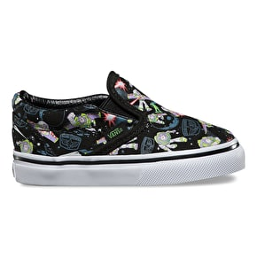 Vans x Toy Story Slip-On Toddler Shoes - Buzz Lightyear/True White