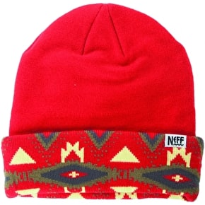 Neff Tribal Shores Beanie - Red