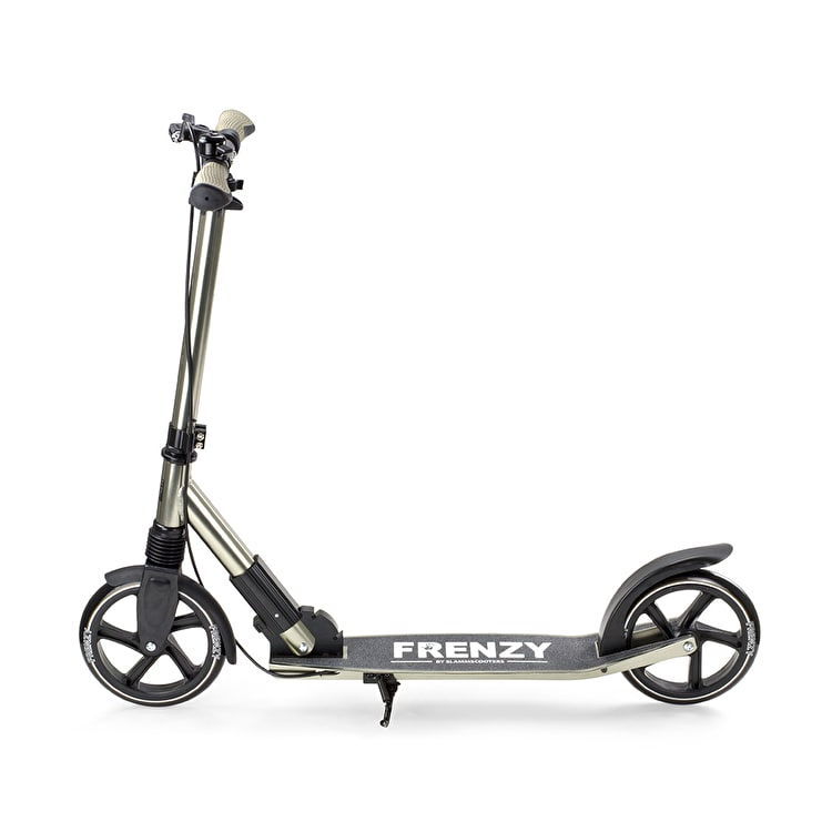 Frenzy 205mm Dual Brake Folding Scooter - Champagne