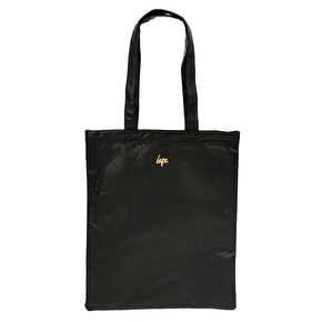 Hype Depth Flowers Faux Leather Tote Bag