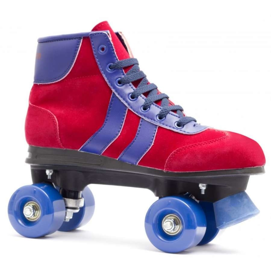 Rookie Retro Roller Skates Red Blue Rookie Brands