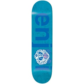 Enjoi No Brainer Quinceanera R7 Skateboard Deck - Blue 8