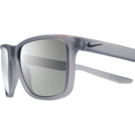 Nike SB Unrest Sunglasses - Matte Wolf Grey Deep Pewter/Grey With Grey Lens