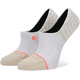 Stance Uncommon Invisible Socks - White