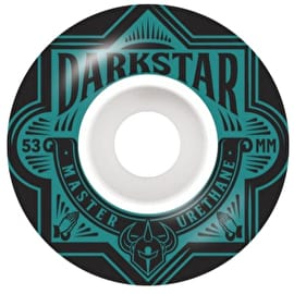 Darkstar Section Skateboard Wheels 53mm - Aqua