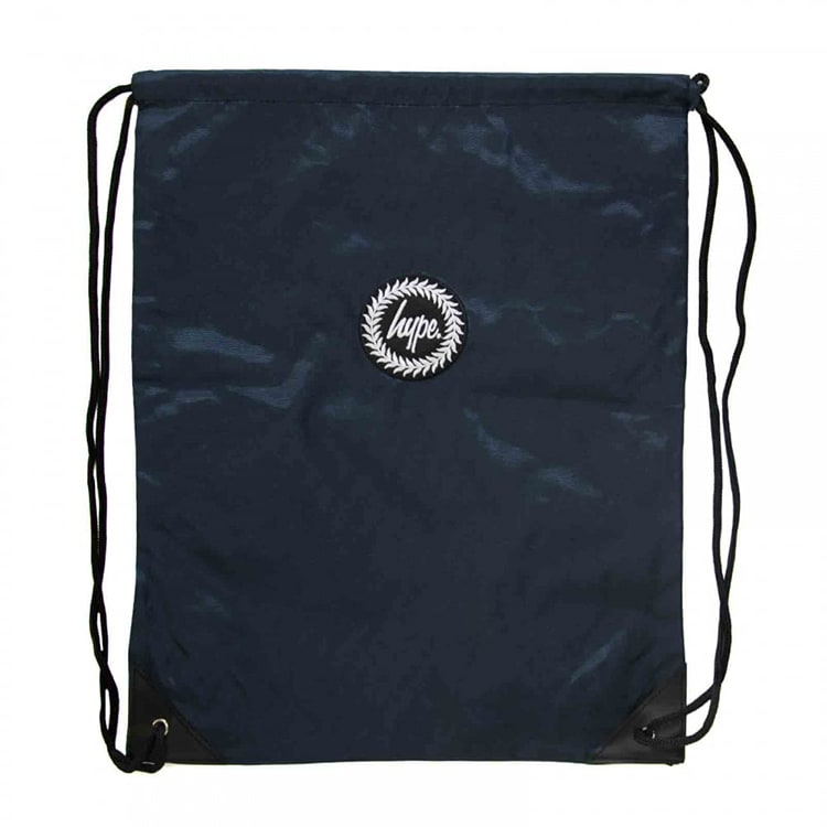 Hype Crest Gym Bag - Navy