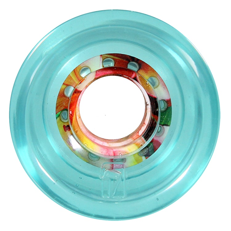 Globe Icon Longboard Wheels - Clearwater/Tropics 62mm