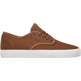 Emerica Wino Standard Skate Shoes - Tan/White