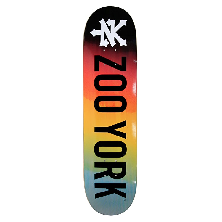 Zoo York Photo Incentive Gradient Fire Skateboard Deck - 8.0""