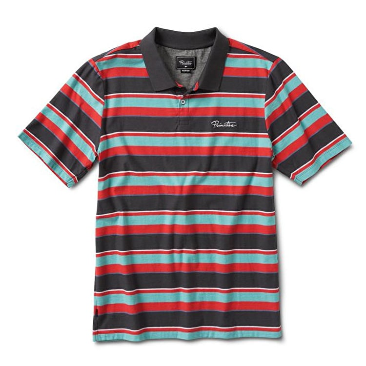 Primitive Weedy Polo T-Shirt - Tropical