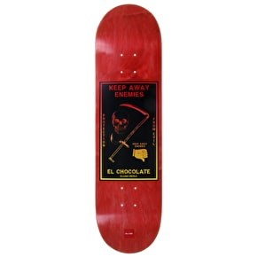 Chocolate Skateboard Deck - Black Magic Berle 8.375
