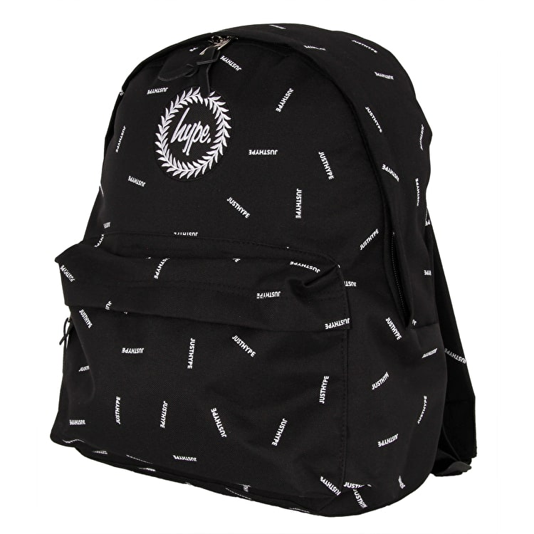 Hype Scatter Backpack - Black/White