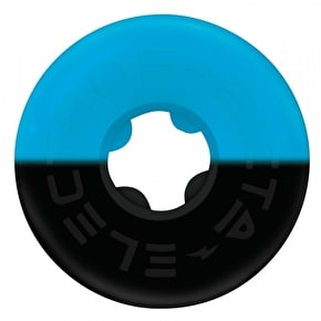 Ricta Duo Tones 98a Skateboard Wheels - Blue/Black 52mm (Pack of 4)
