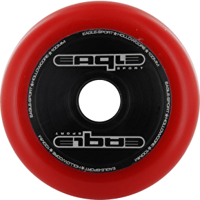 Eagle Hollowcore metal 100mm wheel - Red