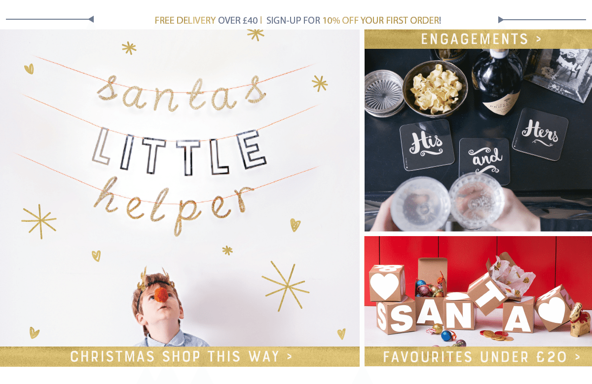 Unique & Personalised Gifts, Customised Gifts, Decorative Letters ...