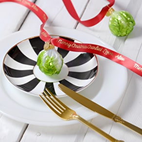 Personalised Brussels Sprout Place Settings