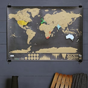 Travel Scratch Map