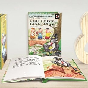 Personalised Three Little Pigs Storybook