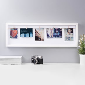Single Clothes Line Photo Frame