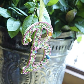 Personalised Sparkle Letter Decoration