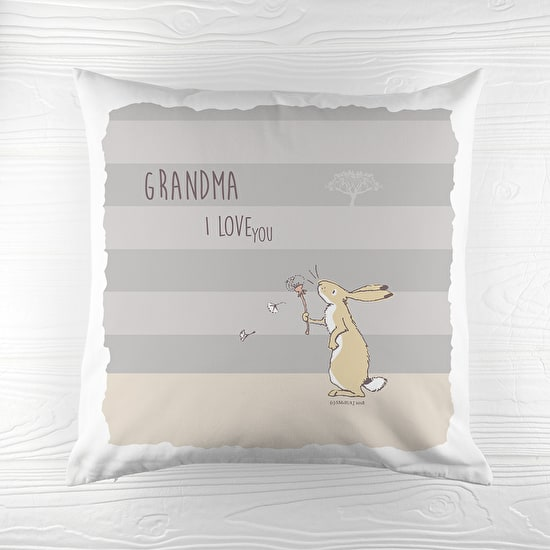 Personalised Striped 'Love You 'Cushion Cover