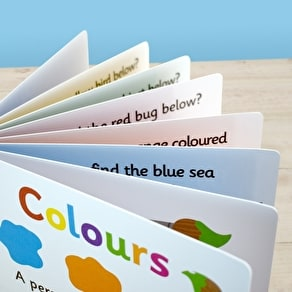 Personalised First Steps Book of Colour